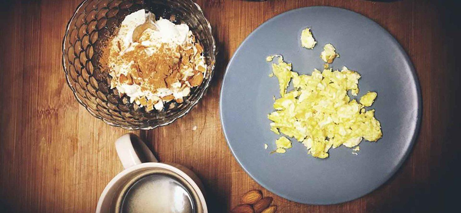 Buongiorno con la keto-colazione di T.!